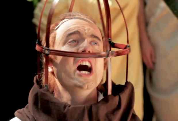 Ticklish Cage Comedy