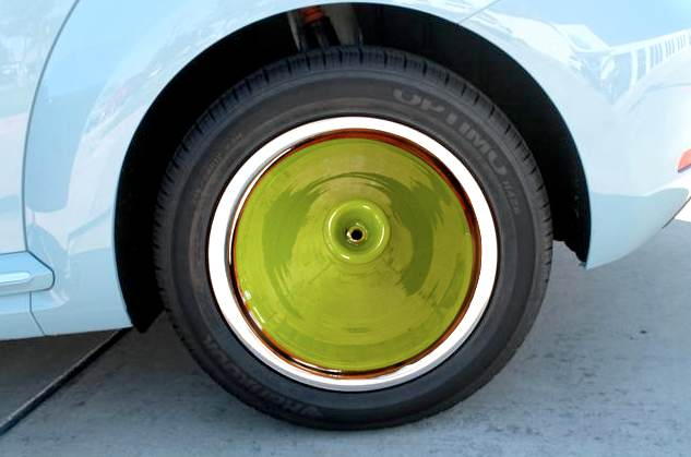 Tagine tyre hubcap