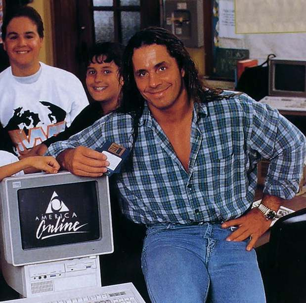 computer internet in the 90s