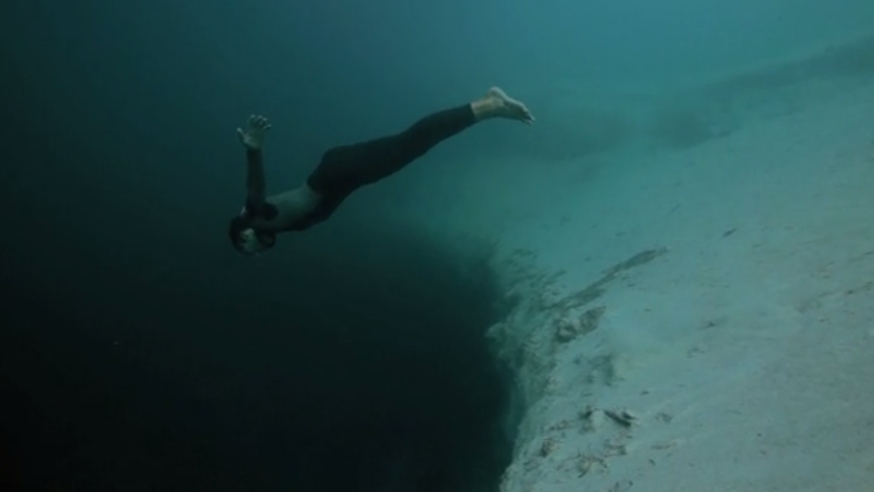 french free diver